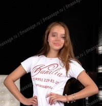 Aleksa - masseuse in Moscow