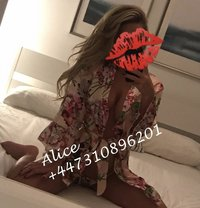 Alice English - Back in February - escort in Dubai