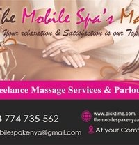 The Mobile Spa's Incall & Outcall - escort agency in Nairobi