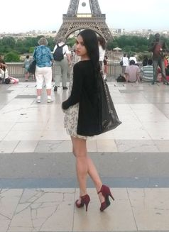 TS BabySteffy - cute feminine BIG & HARD - Transsexual escort in Paris Photo 2 of 30