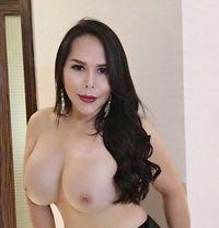 Bombshell Lucie - Transsexual escort in Dubai