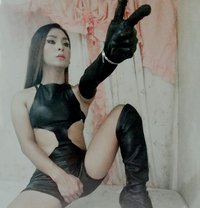 Wild and extremely burn in me! Obey me! - Transsexual escort in Manila
