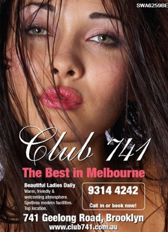 Club 741 - escort agency in Melbourne Photo 1 of 1