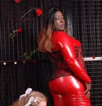 "Dubai Black Mistress ""Sheikha"" Darkness - dominatrix in Dubai"