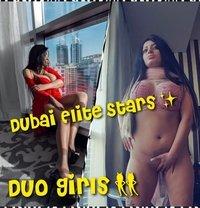 Duo Girls Dubai Elite Stars Agency - escort in Dubai