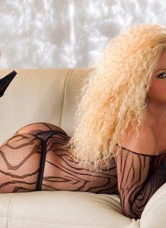 Escort shemale Bianca Heibiny XXL - Transsexual escort in Milan Photo 15 of 16