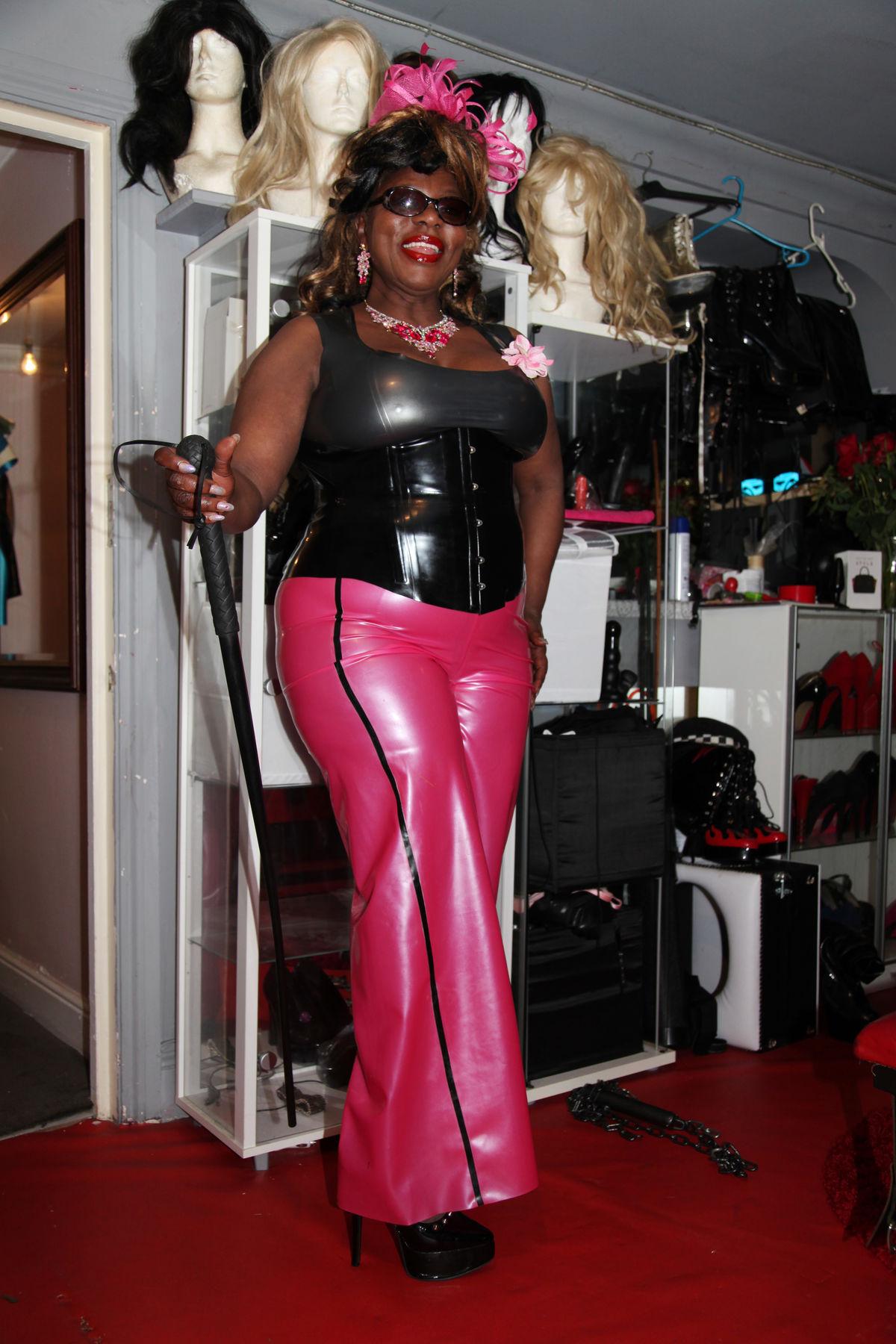 Goddess Dionne, British dominatrix in Manchester