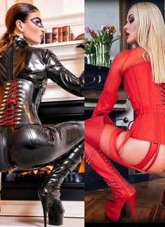 GODDESS LADY SKOTIA & MISTRESS JEANETTE - dominatrix in Geneva Photo 6 of 11