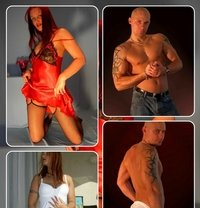 Hot Russian Couple M+F Available NOW - Male escort in Dubai