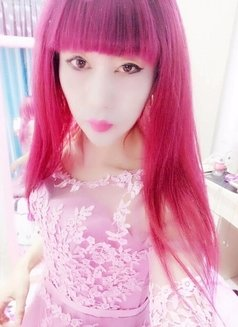 CHINA hot sexyLadyboymeina - Transsexual escort in Beijing Photo 2 of 12
