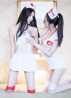 LUCY AND ALICE-Lesbian show -korea Girls - escort in Dubai Photo 2 of 14