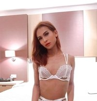 Michelle is back in the city - Transsexual escort in Bangalore