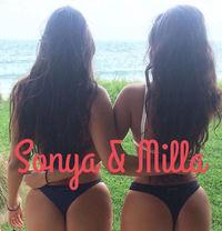 Milla & Sonya - escort in Montreal