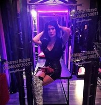 Mistress Bissya - Transsexual dominatrix in Barcelona