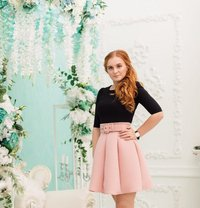 Natalia Natural Russian Redhead Outcall - escort in Dubai