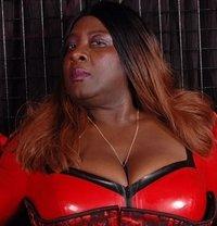 Oslo BBW Black Mistress - Madame Darknes - dominatrix in Oslo
