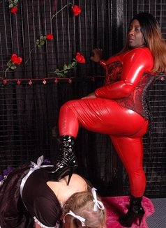 Oslo BBW Black Mistress - Madame Darknes - dominatrix in Oslo Photo 17 of 18