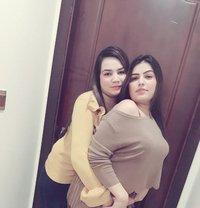 Pareet & Humma Lesbian Girls - escort in Dubai
