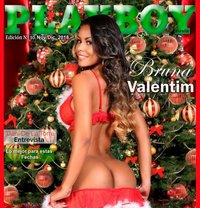 Playboy Model Brazilian Beauty Bruna - escort in Dubai