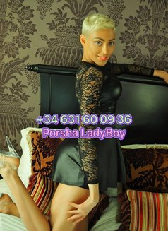 Porsha Uk Ladyboy - Transsexual escort in Al Manama Photo 1 of 9