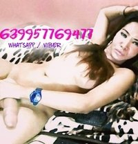 Pretty Kat with a huge surprise! - Transsexual escort in Manila