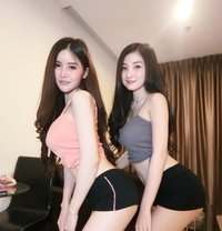 Rara and Friend - escort in Jakarta