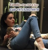Ukrainian Tall Fabulous Hot Model Camila - escort in Dubai