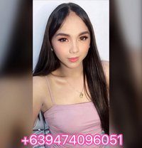 Young pretty ladyboy(Camshow) - Transsexual escort in Makati City Photo 13 of 13