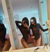 Zara y Milan girlfriends, treesome lolas - escort in Bogotá